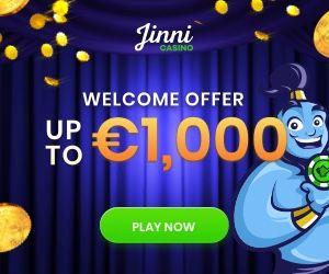 Latest bonus from Jinni Casino