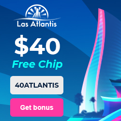 Latest bonus from Las Atlantis