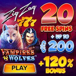 Latest bonus from ZigZag777 Casino